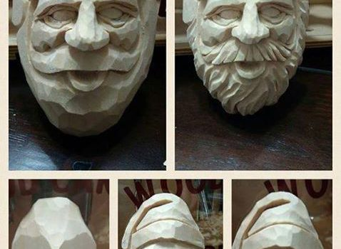 Как вырезать Санта Клауса за 5 шагов