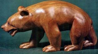 Медведь как вырезать фигурку