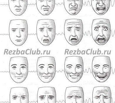 Выражение лица человека