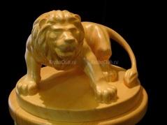Как вырезать фигуру льва из дерева