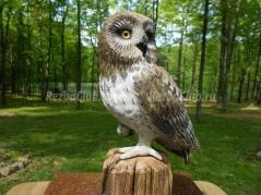 Как вырезать и раскрасить фигуры совы из дерева