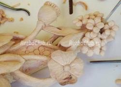 Как вырезать цветы в стиле 17 века Гринлинга Гиббонса