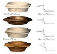 Как выточить стенки ваз, кубков и тарелок из дерева