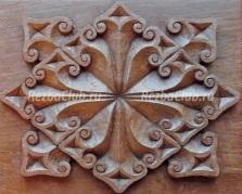 Готическое панно с стиле Тюдоров