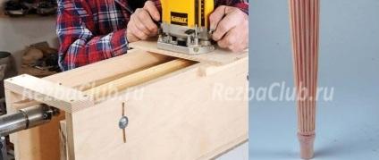 Роутер для граней на токарных изделиях