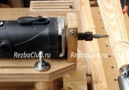 Роутер для горизонтальной фрезеровки точеных изделий