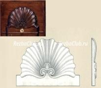 Как вырезать из дерева ракушку для украшения мебели