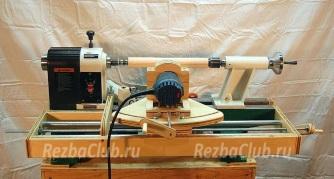 Роутер для фрезерования на токарном станке