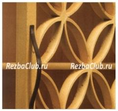 Как изготовить из дерева решетку или сетку.