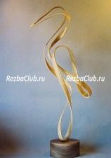 Цапля - интерьерная скульптура