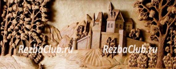 Старый замок — панно