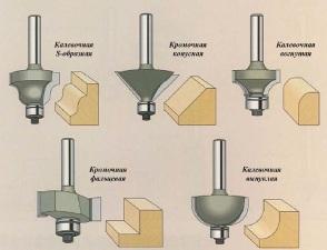 Фрезер и основные виды фрез