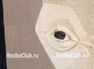 Реалистичный глаз из дерева