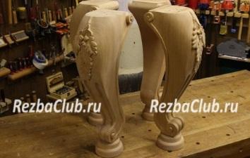 Резные дубовые ножки для стола