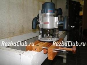 Пазовальный кондуктор для фрезера